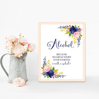 Funny bar sign printable, Funny alcohol sign, Wedding bar sign, Rustic bar sign, Bridal shower decorations, Bachelorette party decorations