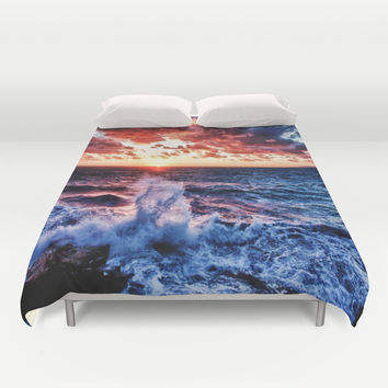 SuNset Duvet Cover by 2sweet4words Designs