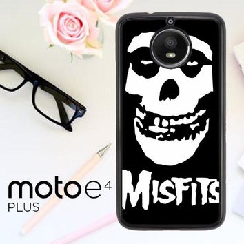Horror Punk Rock Band Misfits Skull Z0506 Motorola Moto E4 Plus Case