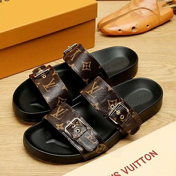 Boys & Men Louis Vuitton Fashion Casual Slipper Shoes