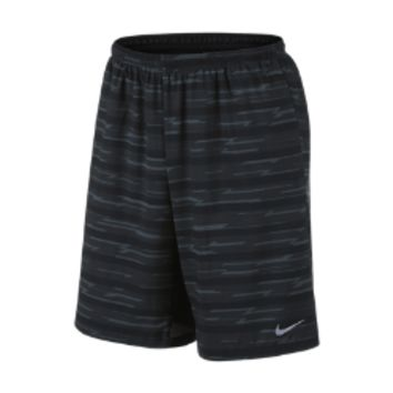 "Nike 9"" Printed Distance Men's Running Shorts"
