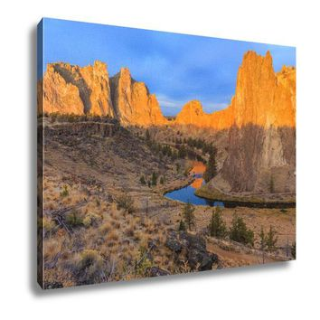 Canvas, Smith Rock State Park, 16x20