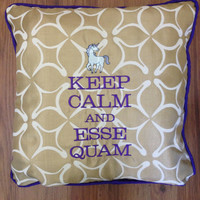 Delta Phi Epsilon Keep Calm and Esse Quam Gold by PutSomeGreekOnIt