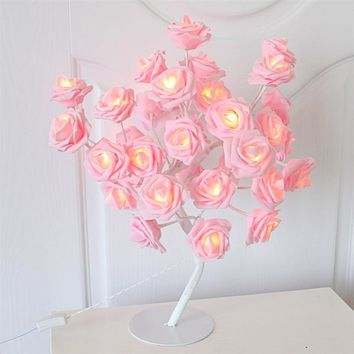 Romantic Rose Table Lamp