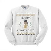 Miley What's Good Crewneck Sweatshirt