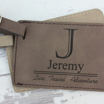 ON SALE Personalized Luggage Tag - Makes A Great Gift