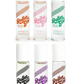 Retro Roller Girls Roll-On Lip Gloss