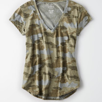AE Soft & Sexy Favorite Tee, Olive