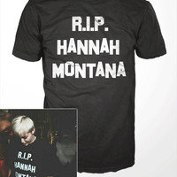 Miley Cyrus T-Shirt  - hannah montana, RIP, music, mens gift, womens, twerk, bangerz, wrecking ball, molly, disney celebrity tee shirt