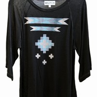 POCAHONTAS at Wildfox Couture in  - DIRTY BLACK, - EARTH