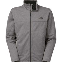 The North Face Canyonwall Jacket for Men in High Rise Grey Heather CTZ8-P3F