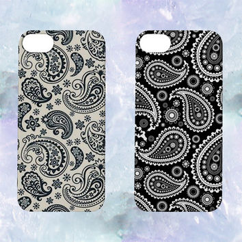Paisley Pattern iPhone Cases | iPhone 4,5,6 | Black White Cute Tumblr Cool Kawaii Seapunk *ON SALE*