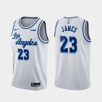 Men's Los Angeles Lakers LeBron James Nike White 2019/20 Swingman Jersey - Best Deal Online