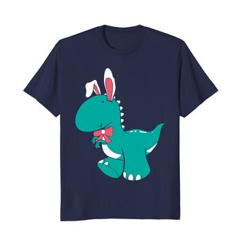 Funny Happy Easter 2018 Shirt | Dinosaur T-Rex Egg Hunter