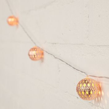 LED Copper Ball String Lights