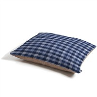 Pimlada Phuapradit Navy Gingham Pet Bed