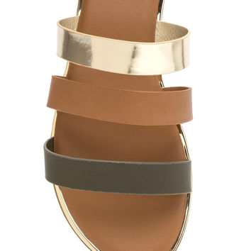 Chic Now Strappy Slide Sandals GoJane.com