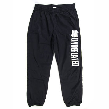 Undefeated: Pole Position Track Pant - Black