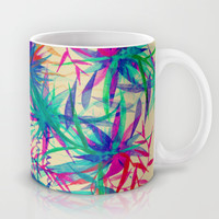 Tropical Jungle - a watercolor painting Mug by Perrin Le Feuvre