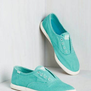 Paint It Fun Sneaker in Aqua