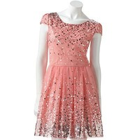 Lily Rose Sequin Dress - Juniors