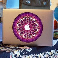 flowers Decal for Macbook Pro, Air or Ipad Stickers Macbook Decals Apple Decal for Macbook Pro / Macbook Air