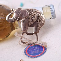 1Pcs Creative Elephant Beer Openers Kitchen Gadgets Dining & Bar Cooking Tools Portable Bottle Openors For Beer