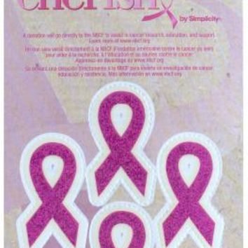 Breast Cancer Awareness Pink Ribbon Tattoos Case Pack 24