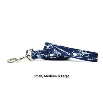 LMFON Seattle Seahawks Nylon Leash