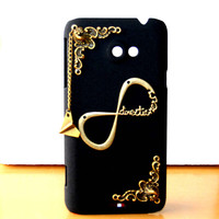 Frosted Hard case bronze silvery punk rivet one direction phone case HTC EVO 4G LTE directioner 1D phone case friendship love gifts trending