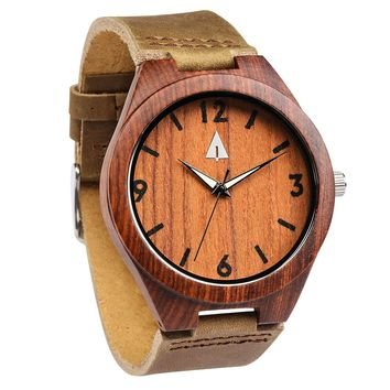Wooden Watch // Rosewood 24