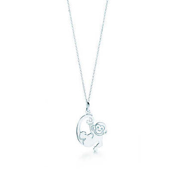 Tiffany & Co. - Monkey Tag Charm and Chain