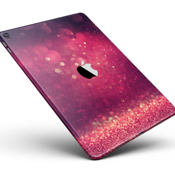 "Dark Pink Shimmering Orbs of Light Full Body Skin for the iPad Pro (12.9"" or 9.7"" available)"