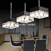 Lampada de LED Crystal Pendant Lights Kitchen/Living Room/Bedroom Aisle Hanging Light Crystal Pendant Lamps Decorative luminaire