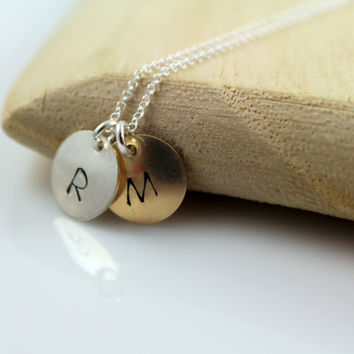Hand Stamped Keepsake Necklace
