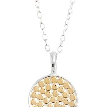 Anna Beck 'Circle of Life' Reversible Pendant Necklace | Nordstrom