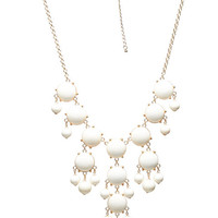 Long Statement Bib Necklace | Wet Seal