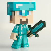J!NX : Minecraft Diamond Steve Vinyl