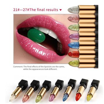 Women Lip Stick Gloss Lipstick Temperature Color Change Lip Moisturizing Care