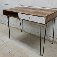 Reclaimed Pallet Wood Desk by Son of a Woodcutter