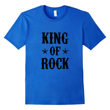 KING OF ROCK T-Shirt for real Rocker and Biker