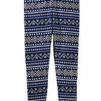 Mix Kit Fair Isle Leggings