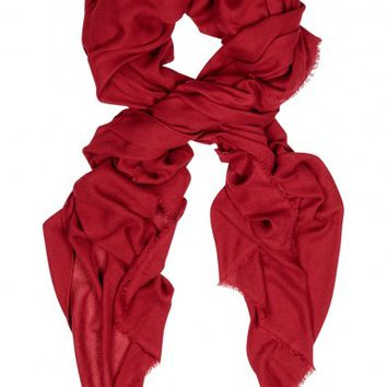 Isabel Marant Étoile Ghazila red scarf