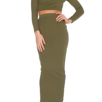 Kay Two Piece - Olive
