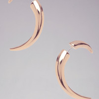 Horn Tunnel Earrings | bebe