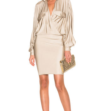 Alexandre Vauthier Dress in Sand | FWRD