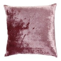 Paddy Velvet Cushion - Damson from William Yeoward