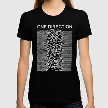One Direction / Joy Division's Unknown Pleasures T-shirt by Onedirectionasbands