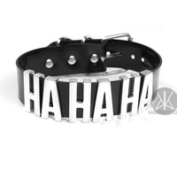 "Joker ""HA HA HA"" CHOKER - XL"