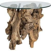 Driftwood Side Table in Side, Coffee Tables | Crate and Barrel